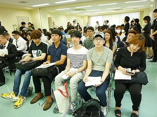 2015 여름학기 동경갤럭시일본어학교 입학식