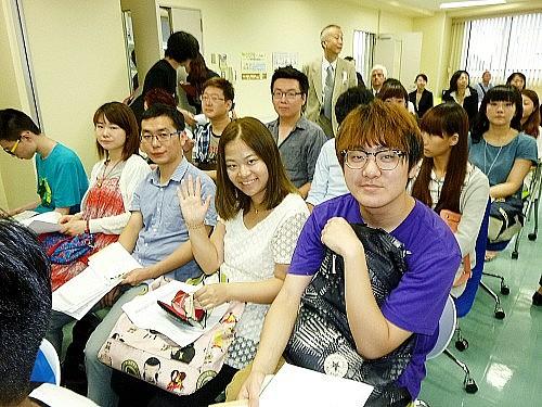 2015 여름학기 동경갤럭시일본어학교 입학식  준비