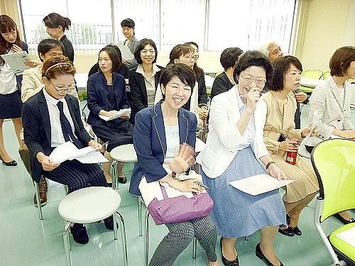 2015 여름학기 동경갤럭시일본어학교 입학식  선생님들