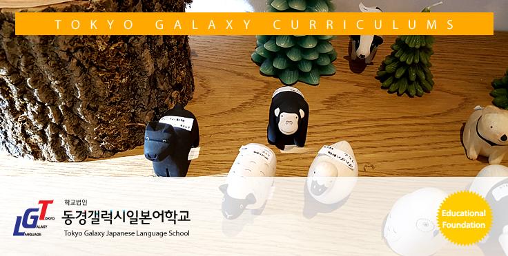동경갤럭시 일본어학교 커리큘럼