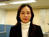 Head of Academic Affairs Michiki Yoko